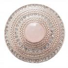 Magnete Spilla Pin Strass Strein Oro rosa