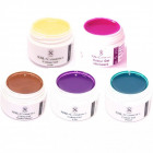 5 x 5ml Profi Color Gel Nail Gel Gels