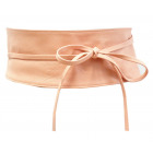Ceinture pour femme avec ceinture en cuir rose