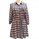 Women Summer Dress, M-2XL, C17816