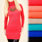 Cashmere Dress with a Golf, Sweater S-XL, 4878