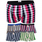 D2683 Cotton Men Boxer Shorts, L-3XL, Checkred
