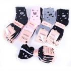 Women Socks with a Kitten, cotton , 35-41, 5077