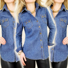 BI164 CLASSIC jeans SHIRT, NICE pockets