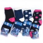 Womens Socks, cotton , Dots pattern, 35-42, 5001