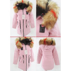 E28 Winter Women's Jacket, Drawstring, Faux Fu