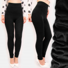 4378 Insulated Leggings Fleece, Bamboo, High Waist