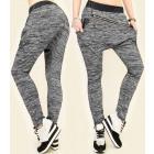 4422 Loose Sweatpants, Latex and Diagonal Slider