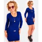D1470 Elegant Sweater Dress, Tunic