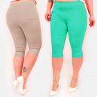 C17622 Colorful Women's Pants, Plus Size