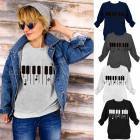 N043 reizendes Baumwollfrauen-Sweatshirt, meine Mu
