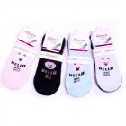 Women Socks, Hello, Ballerina 35-42, 5492