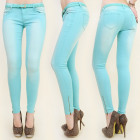 B16478 BEAUTIFUL PANTS JEANS, SLIM LINE, BELT, N