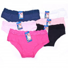 Lace Women Panties, cotton , L - 2XL, 5306