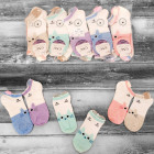 4338 Charming Cotton Women Socks, Kitten