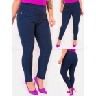 D26125 Elegant Trousers, Large Sizes Up 6XL