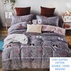 Bedding set, 2-sided, 160x200, 4 parts, Z063