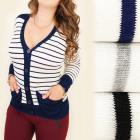 C17178 Herbst, Pullover, Strickjacke, modische Tas
