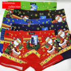 4829 Cotton Boxer Briefs for Men, L-3XL, Christmas