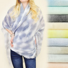 FL413 Shaded scarf, neckerchief, FLOWERS3D