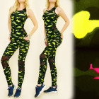 FL502 Set Top + Leggings, Inserts Mesh