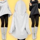 Women Hoodie Sweatshirt M-XL, Long & warm, Hood