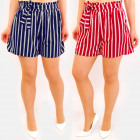 C17607 Summer Shorts, Slimming Belts, Flounce