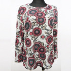 Bluse, Große Größe, Muster, M-3XL, K2724