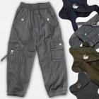A19199 Pantalons isolés pour garçons en coton, 1-5