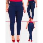 D26126 Elegant Trousers, Large Sizes Up 6XL