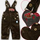 A19186 Pantaloni con bretella, ragazzo, 1-3 anni