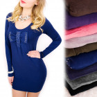 4219 Sweater Dress, Tunic, Big Bow, Jewels