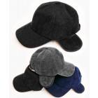 C1955 Herren Baseball Cap, Ohrenschützer, Cord