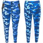 Women Pants, Moro Pattern, Blue Moon, M - XL, 5272