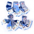 Boys Socks with ABS, Various Designs, 19-37, 518