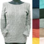 Classic Women Sweater, Daily Line, R133