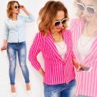 D1483 Elegant Women Jacket, Pastel Colors