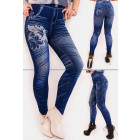 SOF31 Warm Bamboo Leggings, Jeans with Printing
