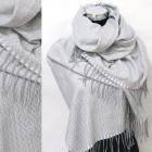 Winter Scarf, Shawl, Zigzag pattern, A1854