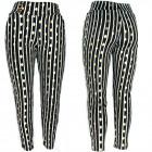 Women Pants, Gold Polka Dots, S-2XL, C17720