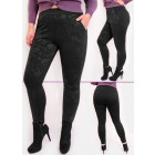 4380 Warm Bamboo, Insulated Leggings, High Waist