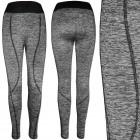 4466 Sports Leggings Women, Melange Knitwear