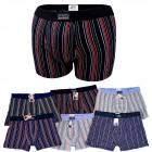 D2691 Cotton Mens Boxer Shorts, M - 2XL, striped