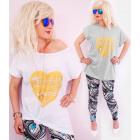4420 Cotton Blouse, Plus Size, Golden Heart