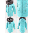 E18 Winter Women's Jacket, Pendants, Azure