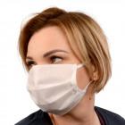 masque de protection, 3 couches, blanc, D5807
