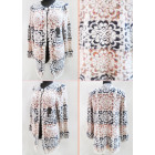 K65 Trendy Cardigan, Sweater, Colorful Lace Patter