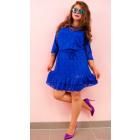 BI778 Lace Dress in Autumn Colors