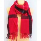 B11493 Big Scarf, Plaid, Shawl, Warm Knitwear