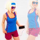 4577 Sportliches Damenhemd + Shorts, Sommerset